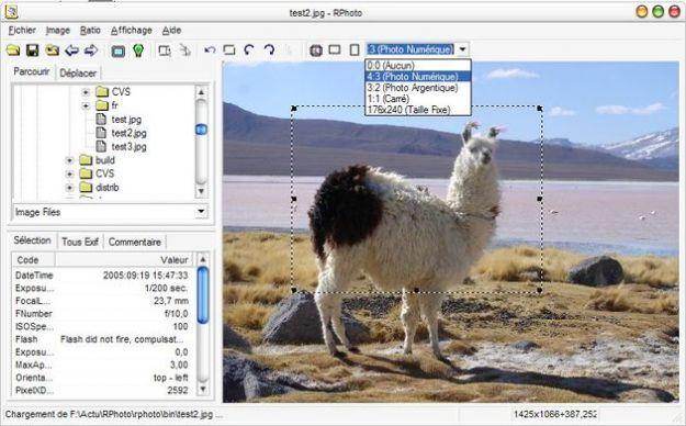 Programmi per fotoritocco, RPhoto per stampare solo la parte che ci interessa