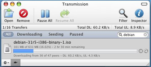 programmi torrent transmission