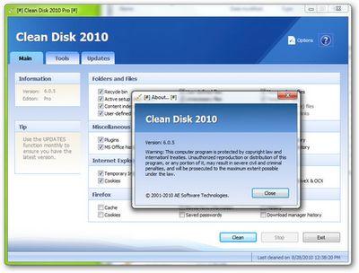 Pulizia hard disk: liberare spazio sul disco fisso con Clean Disk 2010