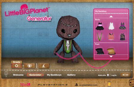 Come creare pupazzi su internet con LittleBigPlanet