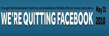 Mark Zuckerberg: Quit Facebook Day è stato un flop