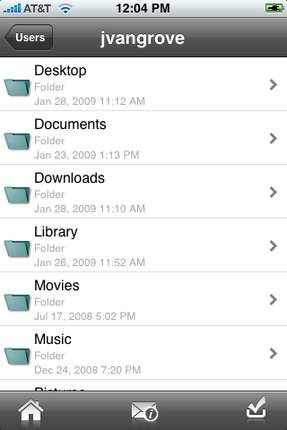 ReachMyFile, gestisci i file del tuo Mac dall'iPhone