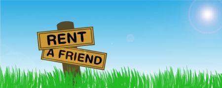 Internet propone gli amici in affitto