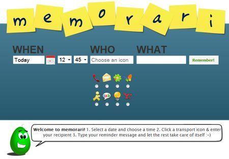Come ricordare gli impegni con Memorari