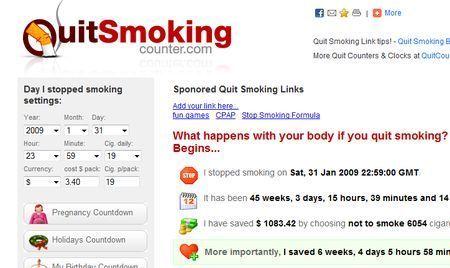Smettere di fumare con Quit Smoking