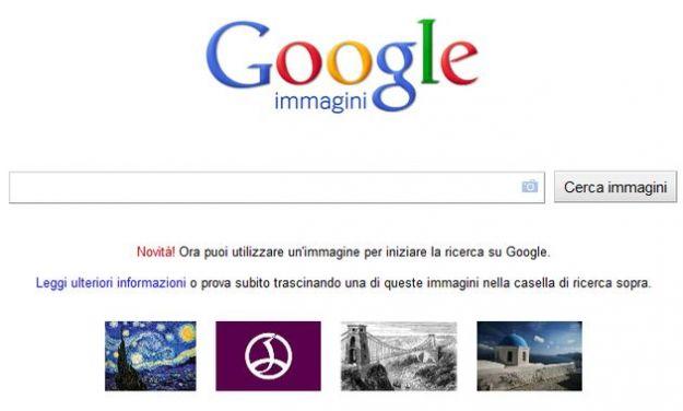 ricerca immagini online google