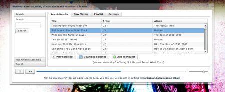 Scaricare musica da Internet con Riptune