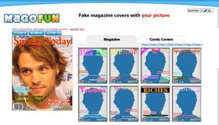 Creare una copertina di rivista con immagine personalizzata