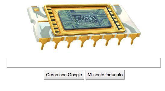 Il Google Doodle di oggi è per Robert Noyce, il padre del microchip