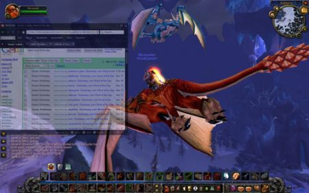 Rogue, il browser in-game per World of Warcraft