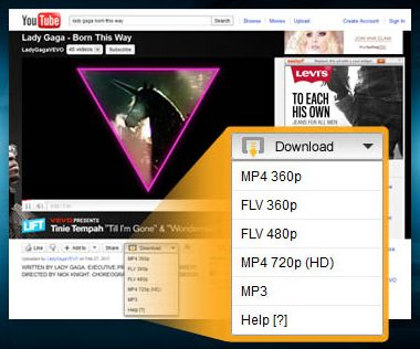 salvare video youtube firefox