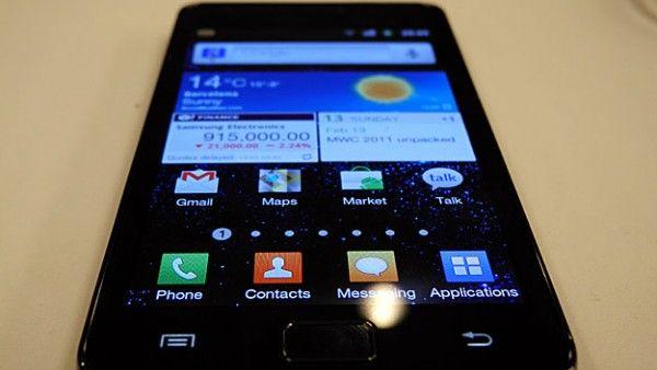 Aggiornamento Software per Samsung Galaxy S II in arrivo