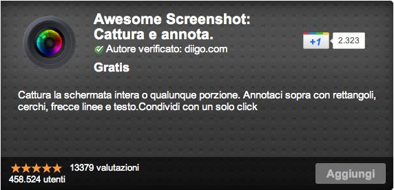 scaricare awesome screenshot