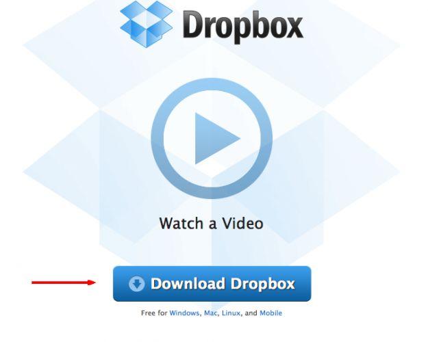 scaricare dropbox