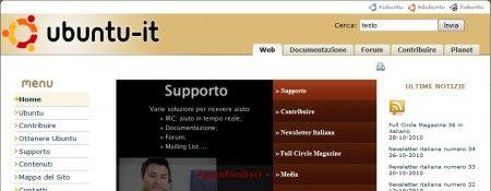 scaricare ubuntu homepage