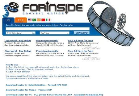 scaricare video forinside