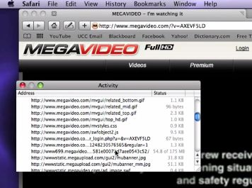 Scaricare i video da Megavideo usando il browser Safari