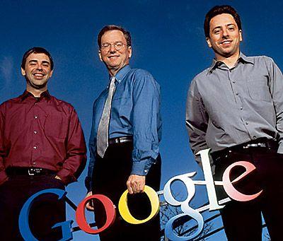 Il CEO di Google Eric Schmidt sarà sostituito da Larry Page