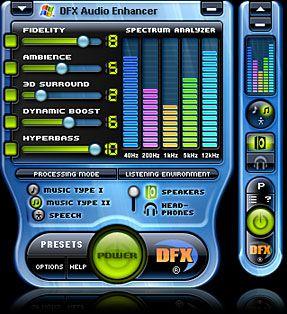 DFX 8 splash screen