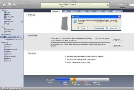 firmware 2.1 iPhone