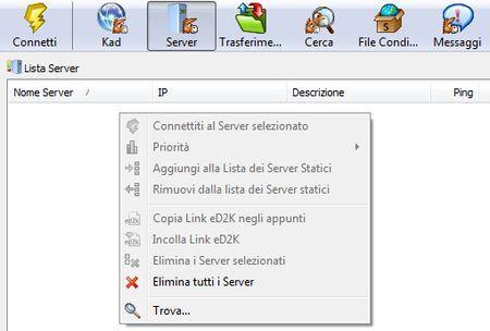 miglior server emule per