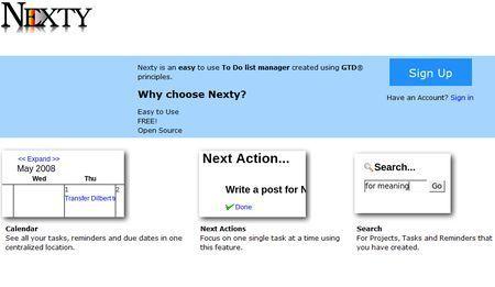 Creare liste di appuntamenti e attività con Nexty