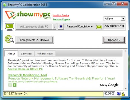 showmypc assistenza