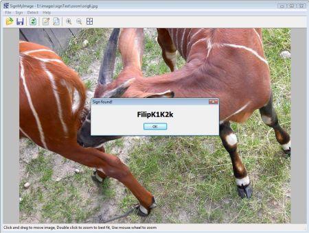 SignMyImage firma digitale invisibile