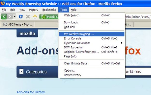 Siti internet preferiti, aprirli automaticamente con un'estensione per Firefox