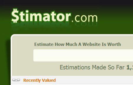 Misurare il valore di un sito con Stimator