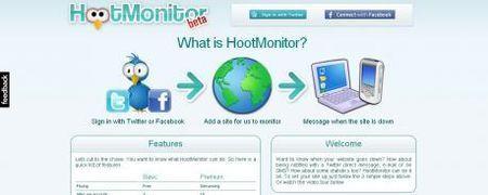 Monitorare i siti con HootMonitor