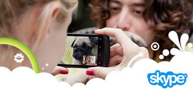Skype per Android in versione 2.6 con condivisione di foto e video già su Android Market