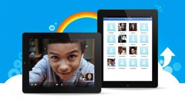 Skype per iPad aggiornato per il nuovo Retina Display
