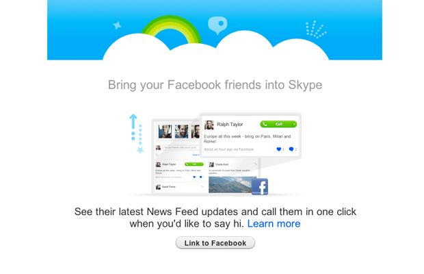 Skype 5.4 Beta per Mac introduce l'integrazione con Facebook (finalmente)