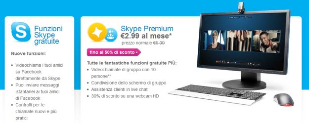 Skype per Windows disponibile la nuove versione 5.8