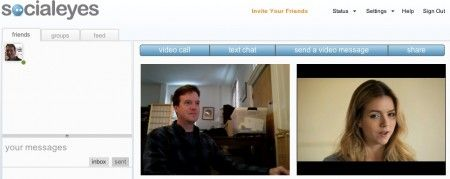 Social network: SocialEyes offre video chat con Facebook e Twitter