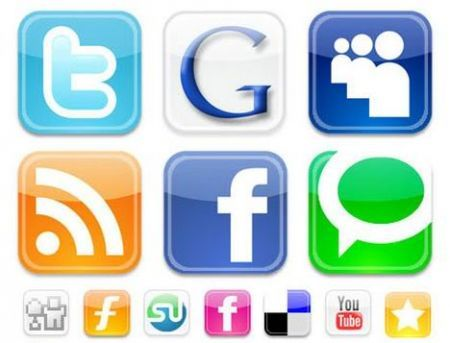 RSS, Email, Facebook, Twitter e Google Buzz