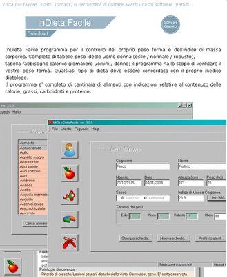 Software per la dieta: i migliori programmi su internet