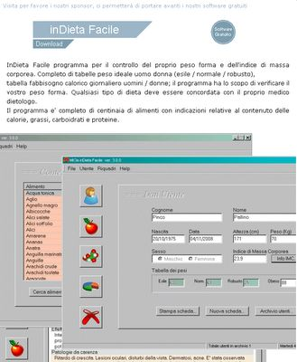 software dieta