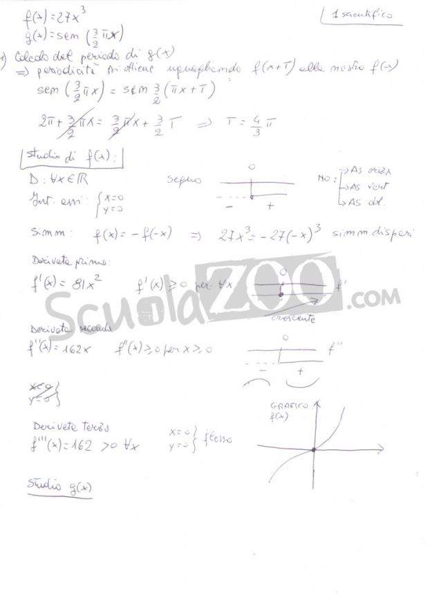 Esami di Maturit 2012: soluzioni seconda prova di Matematica [FOTO]