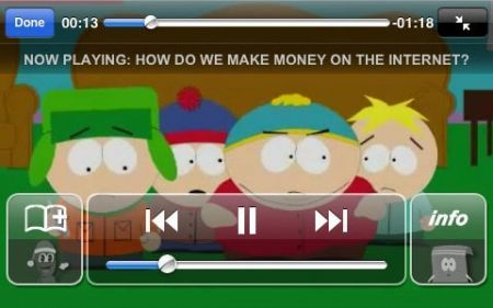 SouthPark iPhone