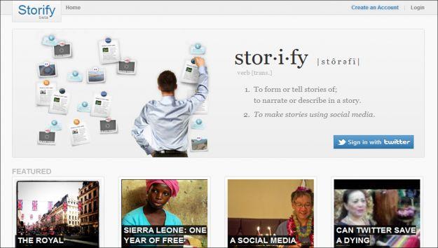 storify social network