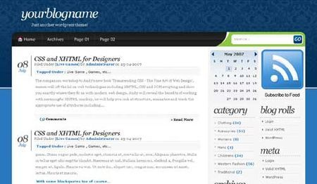 temi wordpress blueuzor