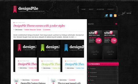 temi wordpress designpile