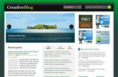 temi wordpress greenmag