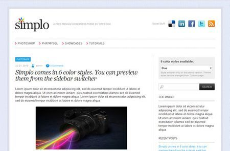 temi wordpress simplo