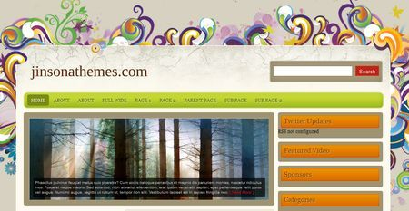 Template per WordPress gratis: Florance
