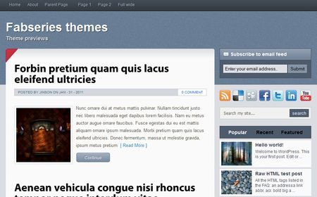Template per WordPress gratis: Horcrux