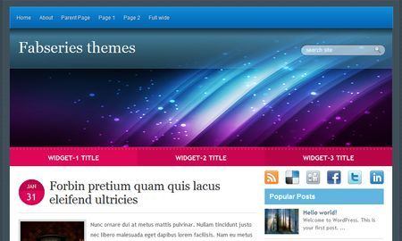 Template per WordPress gratis: Jovan