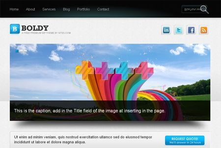 template wordpress magazine boldy